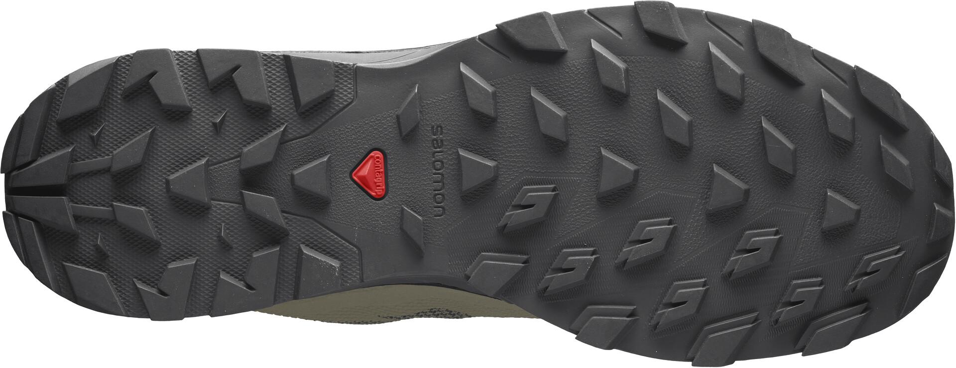 Salomon OUTline GTX Chaussures Homme, burnt oliveblacksafari